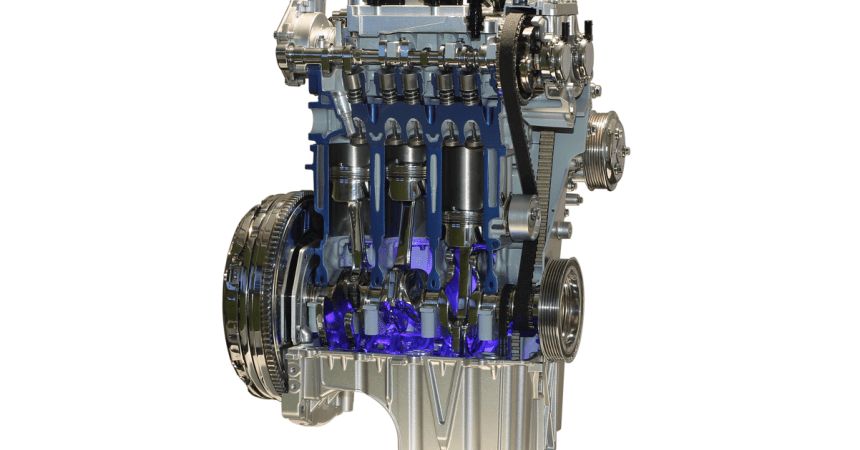 Ford 1 liter Ecoboost engine