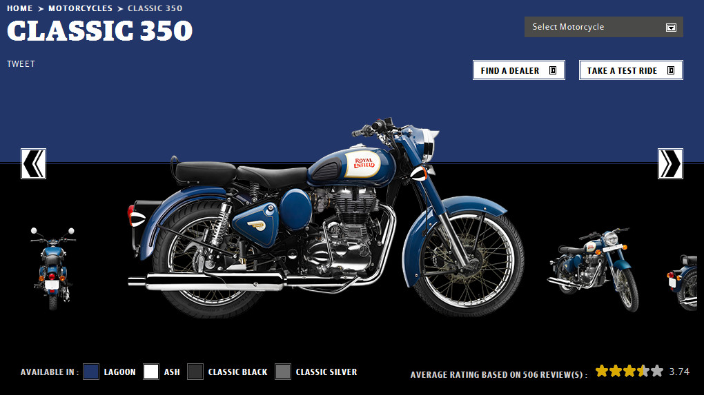 Royal enfield Classic 350 new colours
