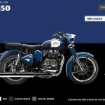Royal Enfield introduces new colors and new brand logo