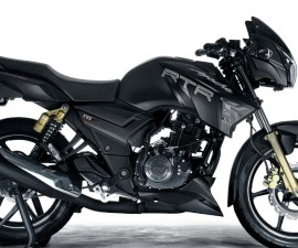 TVS Apache RTR 180 matt black edition