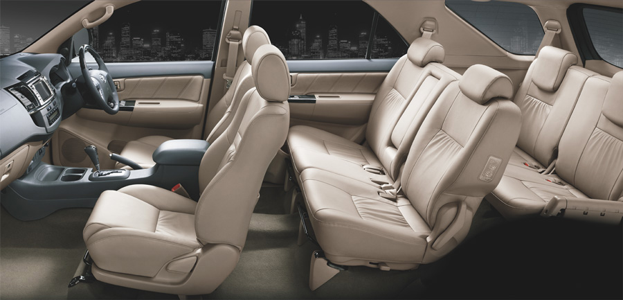 Toyota Fortuner interiors