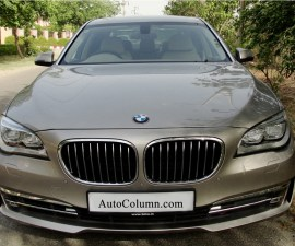2014 BMW 7 series front