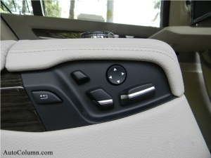 2014 BMW 7 series 730Ld seat functions