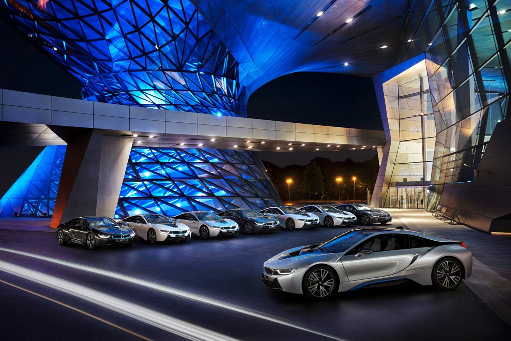 BMW i8 delivery in Germany for first 8 customers