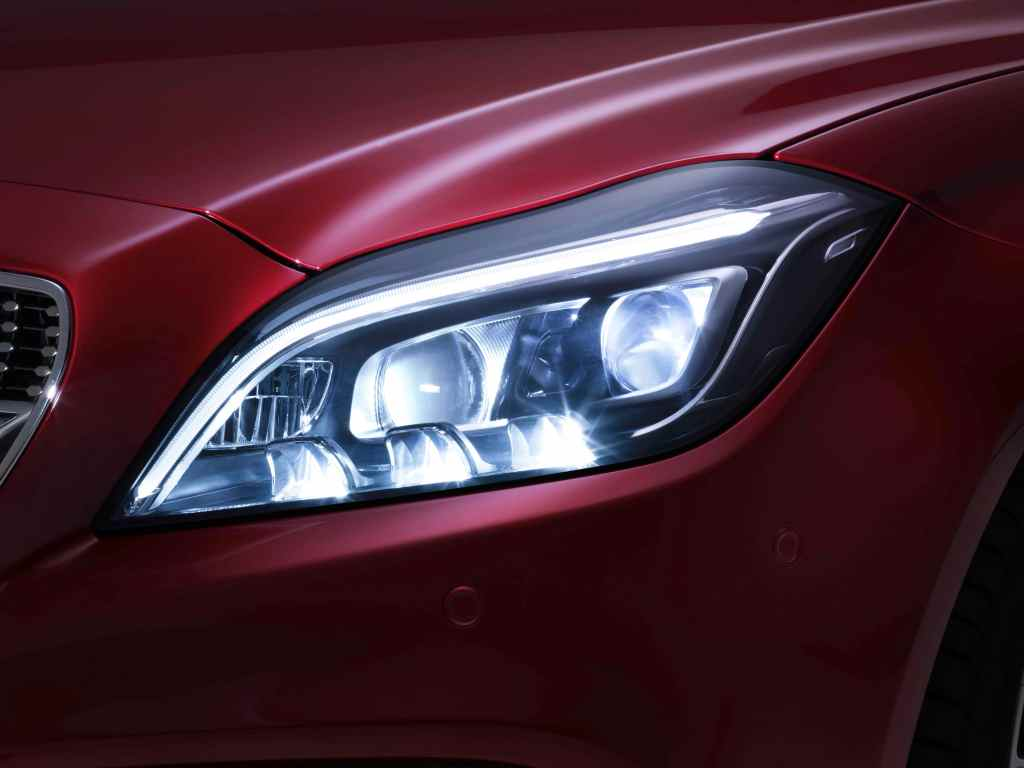 CLS to get an all-new 24-LED multibeam headlight setup