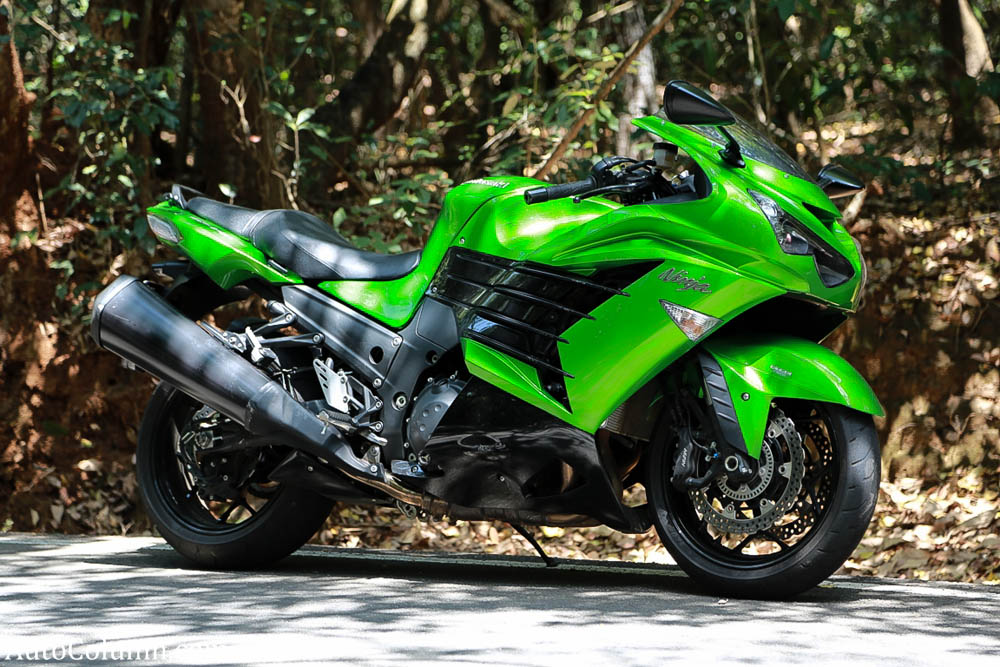 2014 Kawasaki Ninja side view