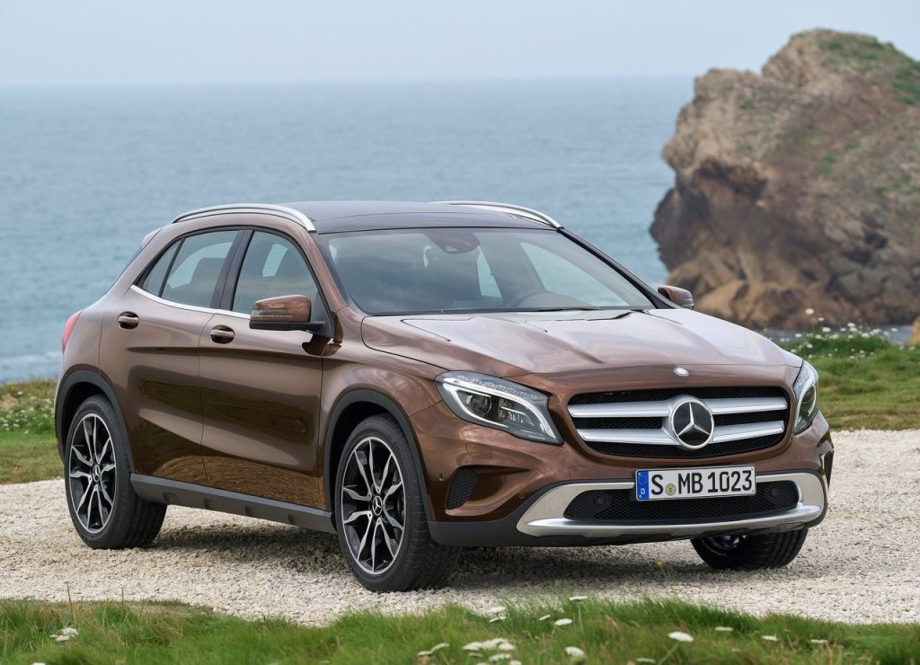 2015 Mercedes Benz GLA crossover