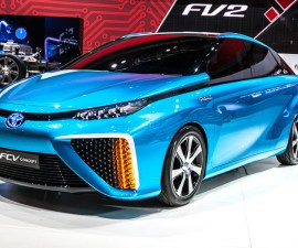 2015 Toyota Hydrogen fuel cell car FCV