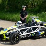 Ariel Atom joins the UK police forces