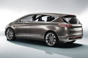 Ford S Max concept used as illustration