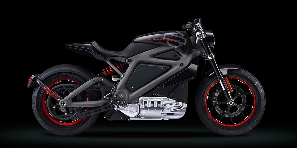First look at the all-electric Harley Davidson