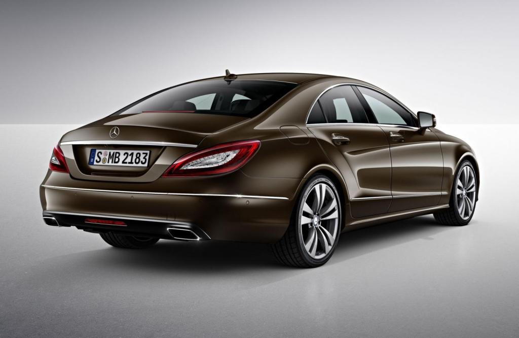 2015 Mercedes-Benz CLS rear