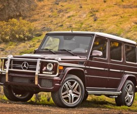 2013 Mercedes Benz G63 front profile