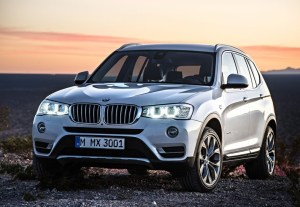 2014 BMW X3 profile