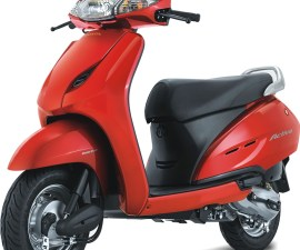 2014 Honda Activa 125 side profile