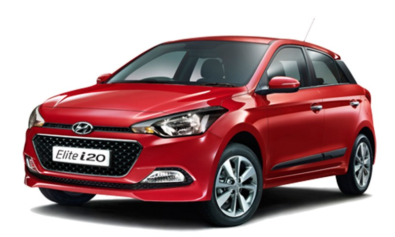 2014 Hyundai Elite i20 side profile