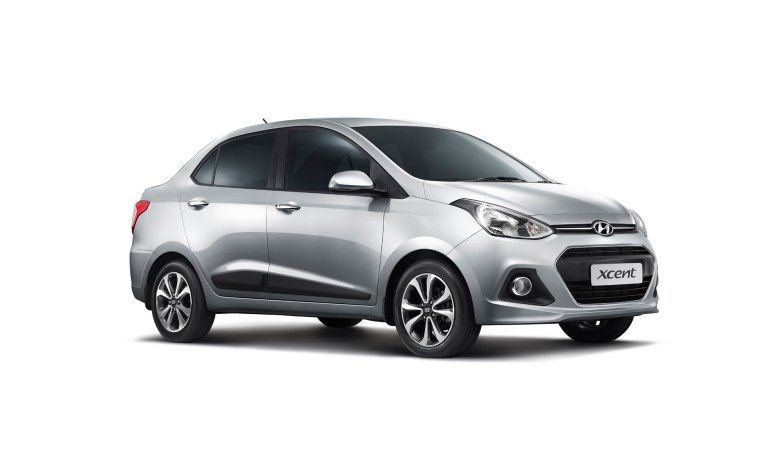 2014 Hyundai Xcent side profile