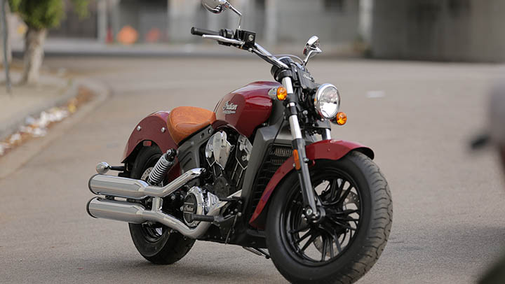 2014 Indian Scout front