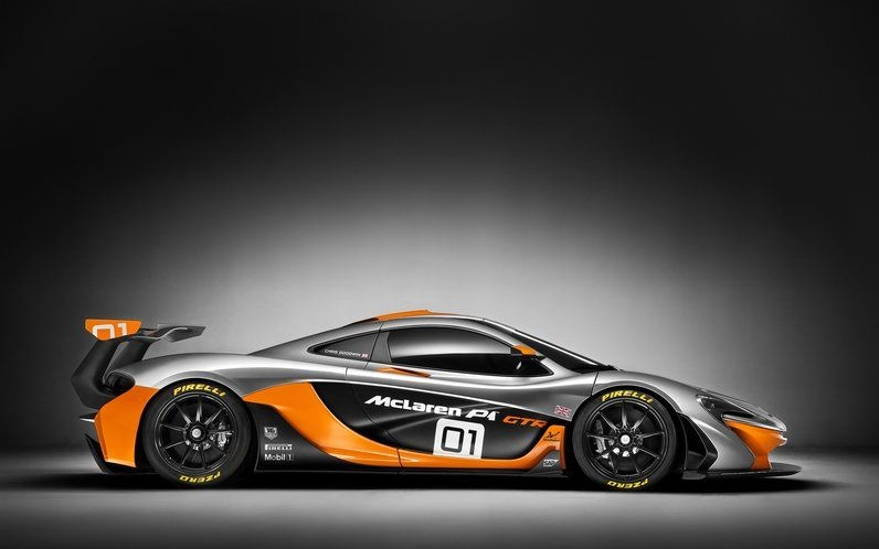 2015 McLaren P1 GTR side profile