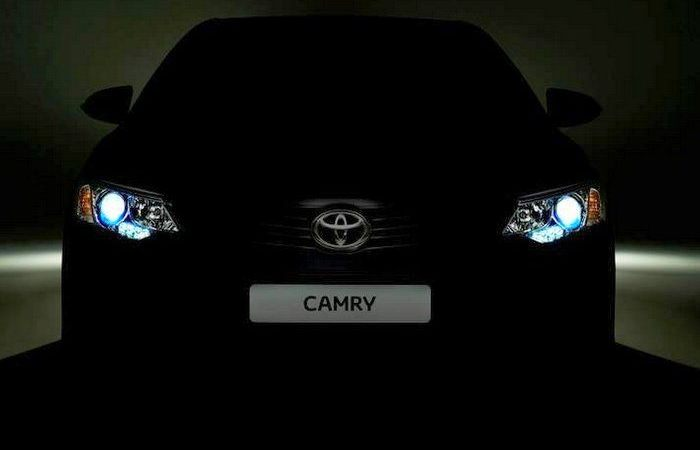 2015 Toyota Camry facelift