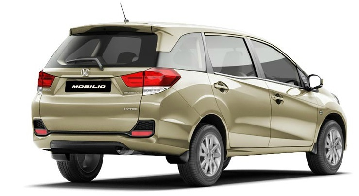 2015 honda mobilio rear profile