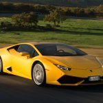 The Lamborghini Huracan gives its costlier sibling the Lamborghini Aventador a run for its money