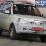 Tata Safari Storme facelift spotted for the first time!
