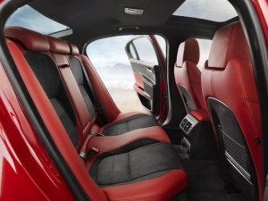 2014 Jaguar XE rear seats