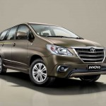 The 2014 Toyota Innova Limited Edition (LE) launched in India