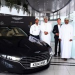 The Aston Martin Lagonda spotted in the Middle-East