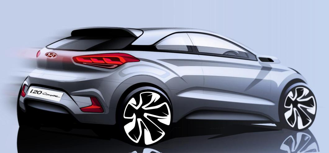 2015 Hyundai i20 Coupe teased