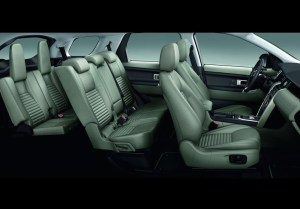 2015 Land Rover Discovery Sport seating