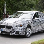 Caught on camera the 2017 BMW 1-Series sedan