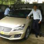 Clear Maruti Suzuki Ciaz images from a dealership