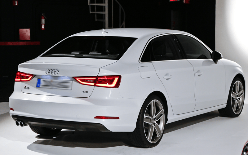 2015-Audi-A3-sedan-Rear Three Quarters