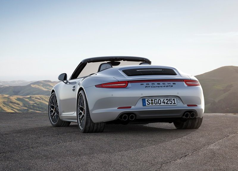 2015 Porsche 911 Carrera GTS rear three quarters
