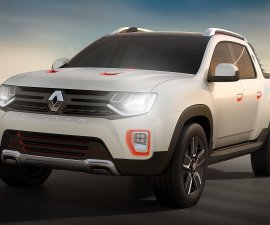 2014 Dacia-Duster-oroch-concept-Front three quarters