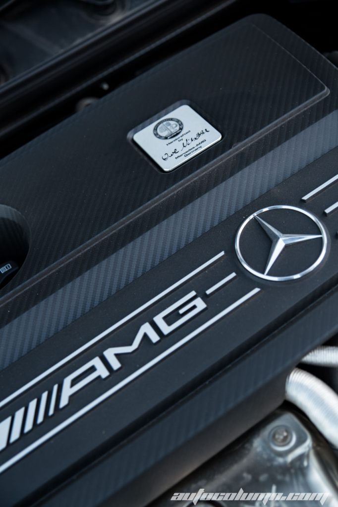 Mercedes Benz CLA45 AMG engine