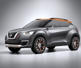 2014 Nissan-Kick-Front Three Quarters