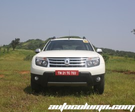 2014 Renault Duster AWD front