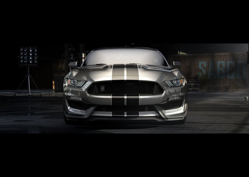 2016 Ford Mustang Shelby GT350 in grey shade