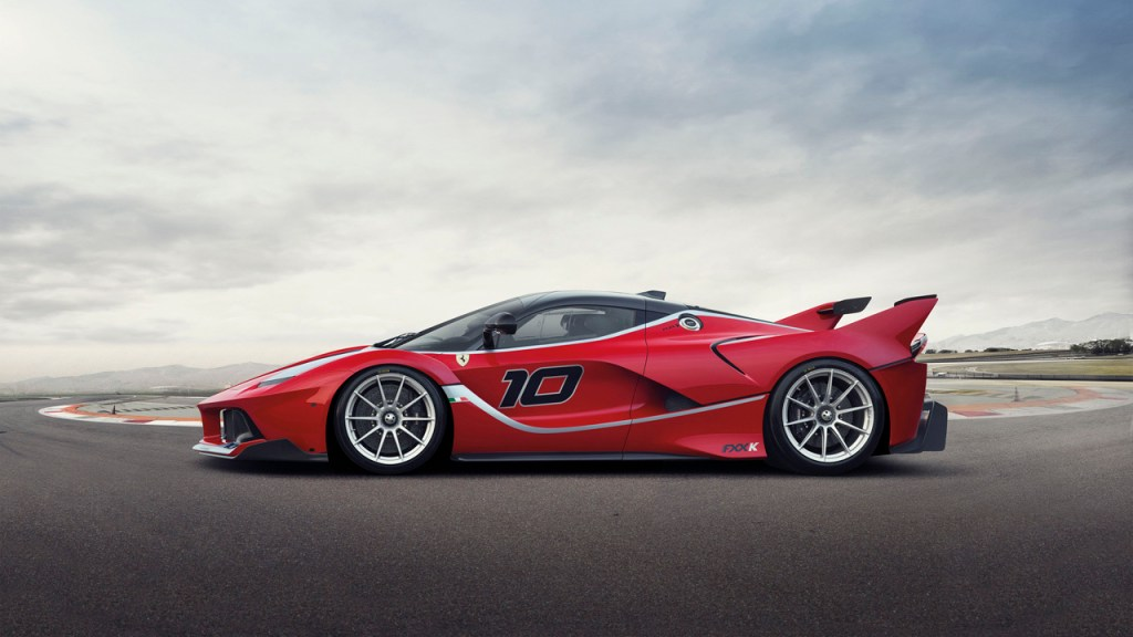 2014-LaFerrari FXX K - Side
