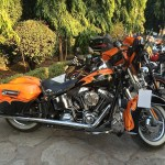Harley Owners roar into Khajuraho for the 3rd Eastern H.O.G Rally