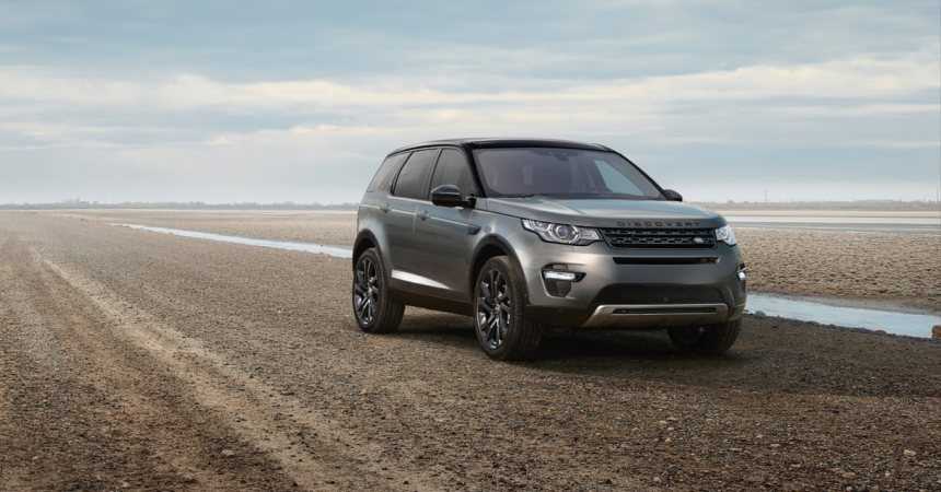 2015 Land Rover Discovery Sport front