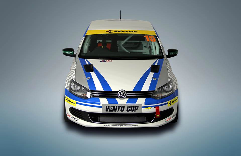 VW Vento Cup car front