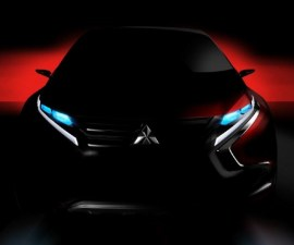 2014-Mitsubishi Concept Sketch-Front