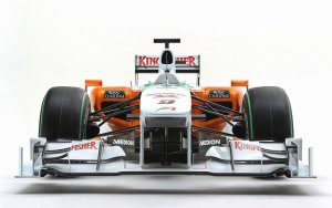 Force India F1 car front