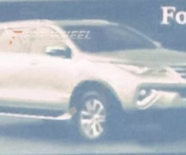 2016 Toyota Fortuner Leaked
