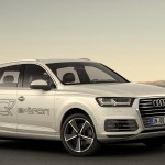 Audi Q7 enters the Volt age in GENEVA : Q7 E-TRON