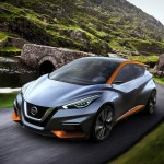Nissan rethinks the compact hatchback: Introducing the Sway Concept